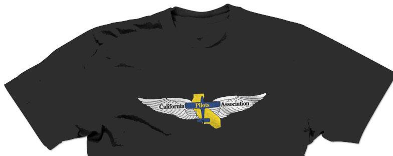 calpilots tee shirt