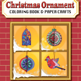 New Christmas Ornament Paper Crafts Book Released