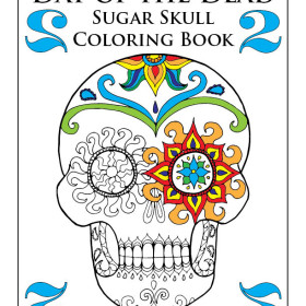 View the Day of the Dead Sugar Skull Coloring Book 2 on Youtube
