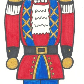 Free Nutcracker Coloring Sheet