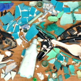 Marine Debris Art Project for Earth Day