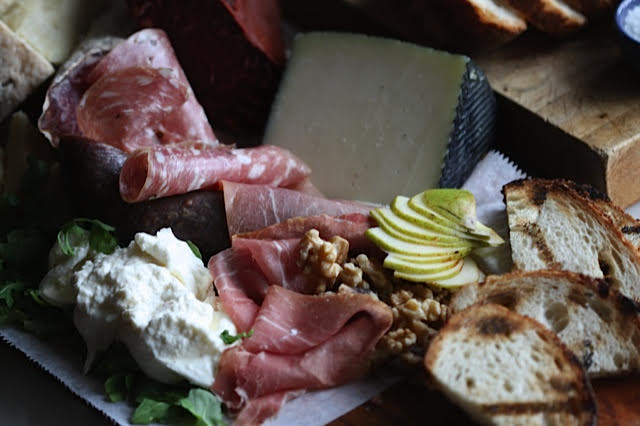 Charcuterie & Cheeses