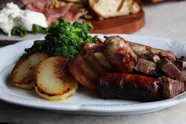 Sausage and Potatoes