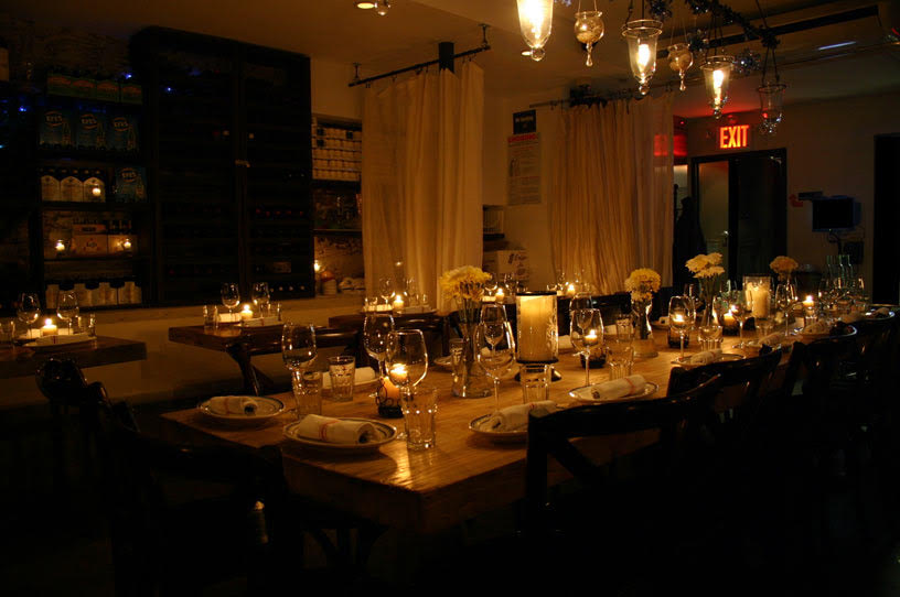 Medi Wine Bar Dining Room