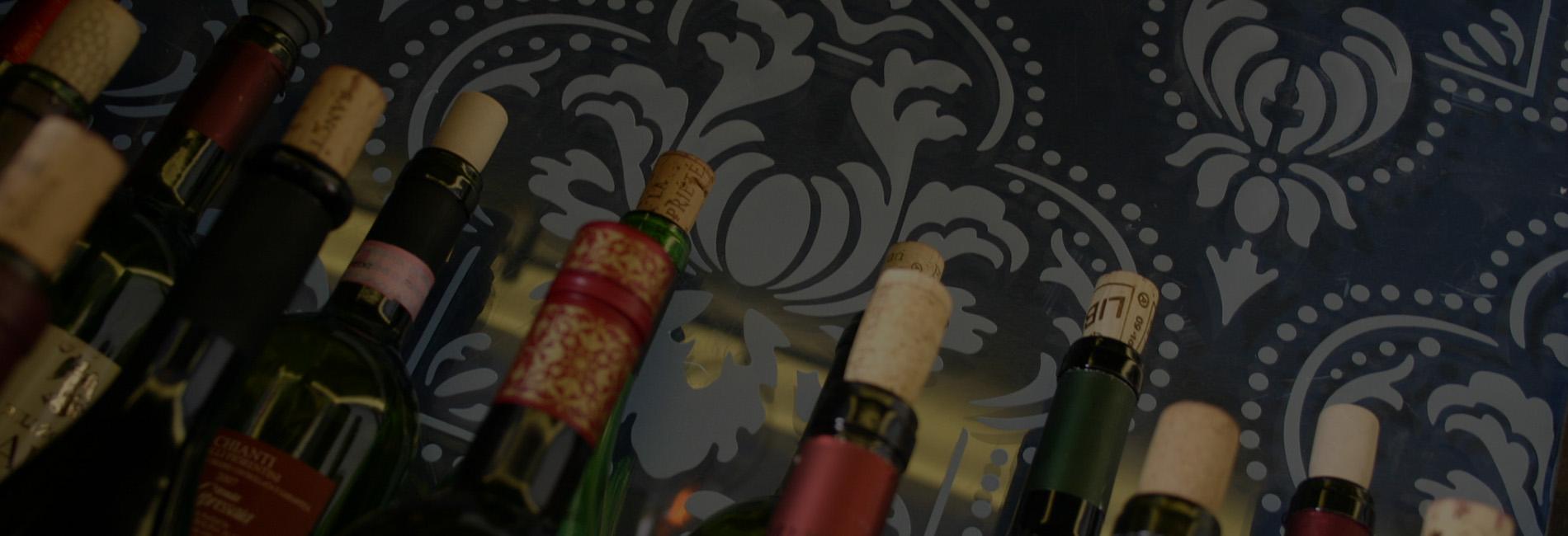 Medi Wine Bar - Wine Bottles