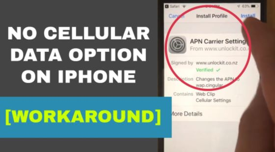 Add or Update APN Settings on any iPhone