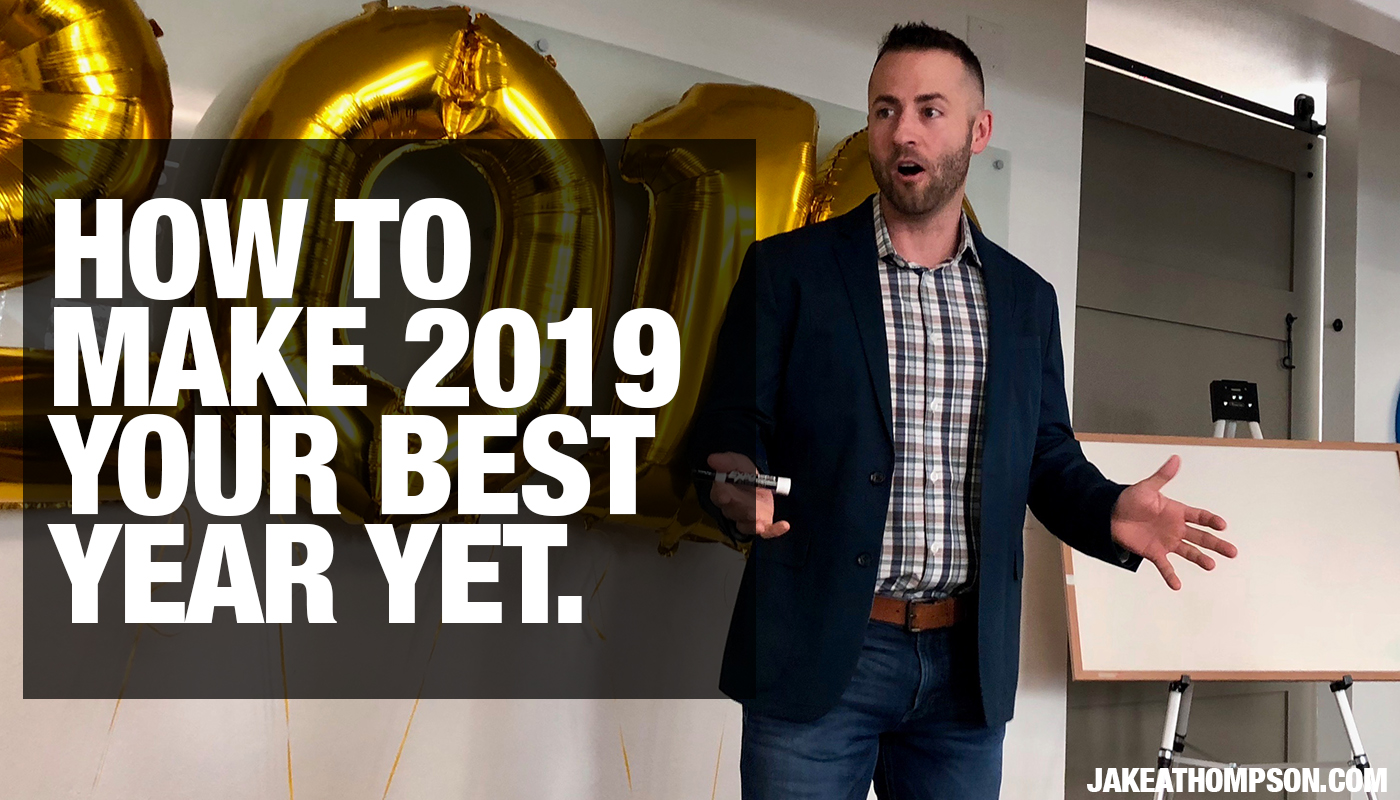 How to Make 2019 Your Best Year