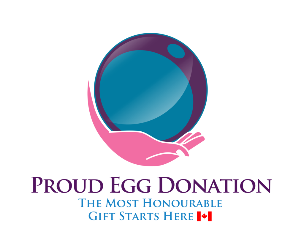 Proud Egg Donation Logo