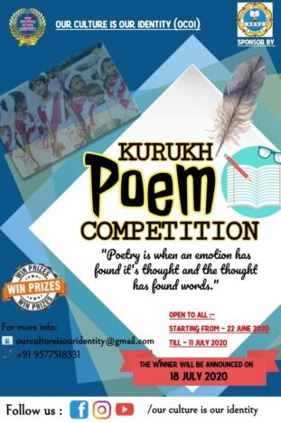 Kurukh Poetry Competition