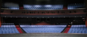 A View of the GWL Theater Seating from the Stage