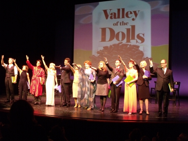 An end scene of Vally of the Dolls