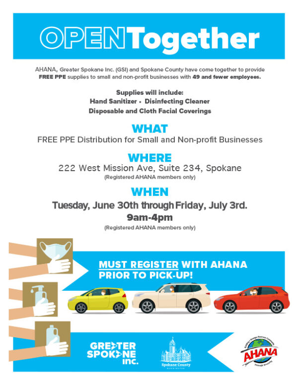 Open Together provides PPE for small businesses.