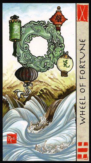 Roda da Fortuna no Feng Shui Tarot