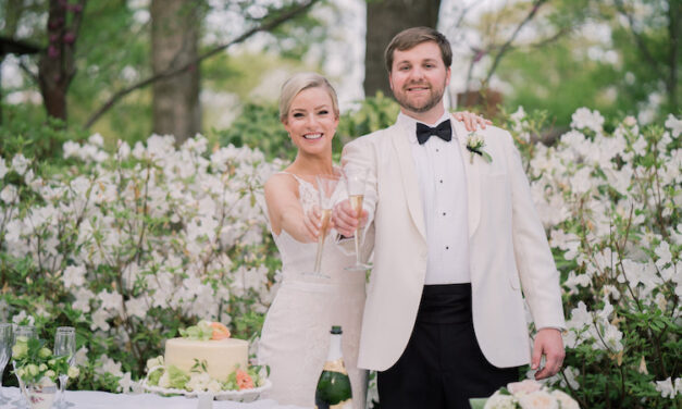 Among the Blooms: A Quarantine Wedding