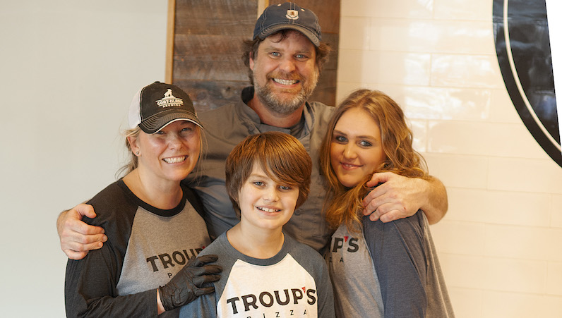 A Taste of the New Troup's Pizza
