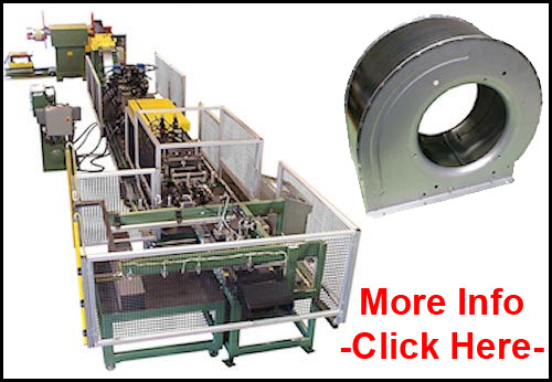 Special Assembly Systems - Blower Housing Wrapper Line