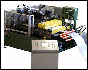 CNC Notch Punch Cut To Length
