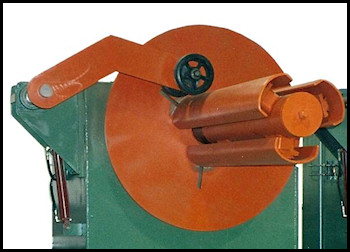 Decoiler Hold Down Arm