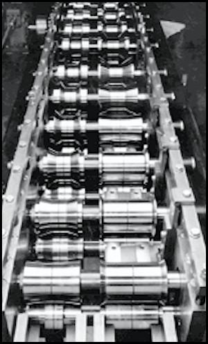 Inboard Application Forming Rolls