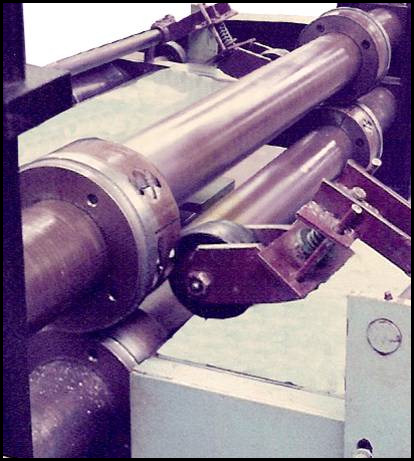 Coil Fed Slit and Shear with Arbor Slitter - Slitter Knives
