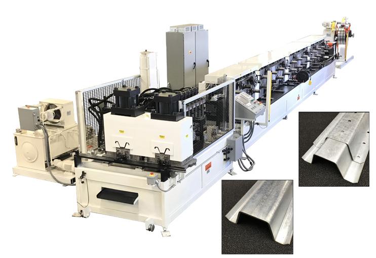 Stiffener Rollform Line Refurbish