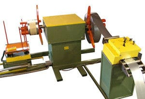 Dual Mandrel Drag Brake Decoiler