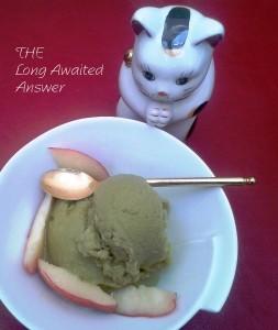 Stay Fit Green Tea Ice Cream