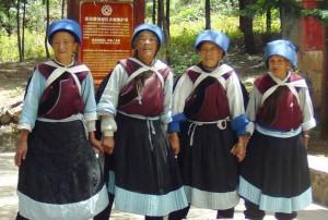 Naxi Cultural Matriarchal Ladies