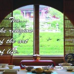 From the tea house