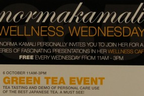 Stay Beautiful Tea Debut at Norma Kamali's Wellness Cafe NYC