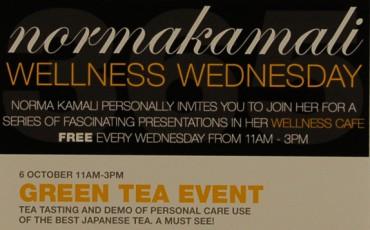 Stay Beautiful Tea Debut at Norma Kamali's Wellness Cafe NYC
