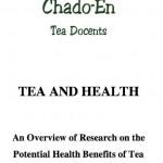 Tea and Health Handbook