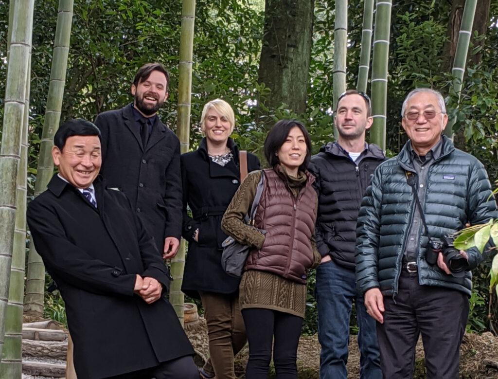 group at kodaiji temple