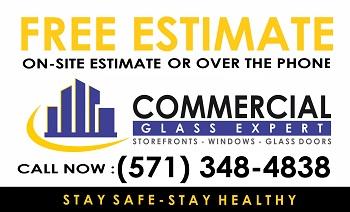 Commercial Glass Repair Expert VA