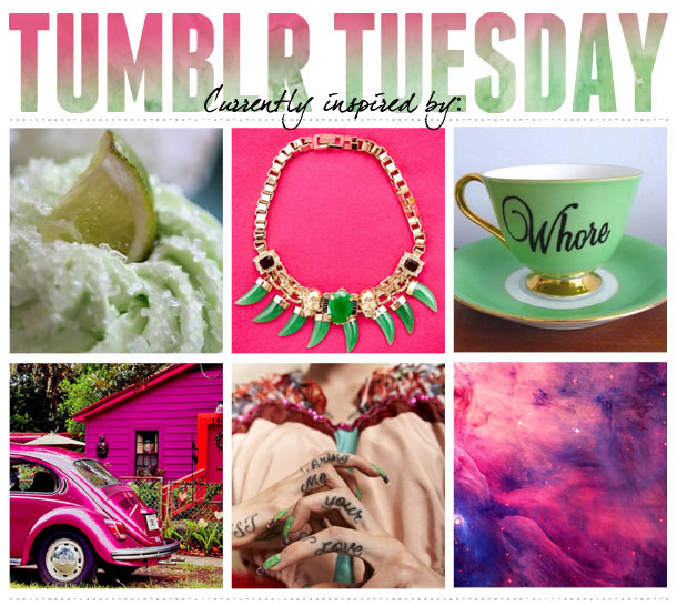 Tumblr design inspiration