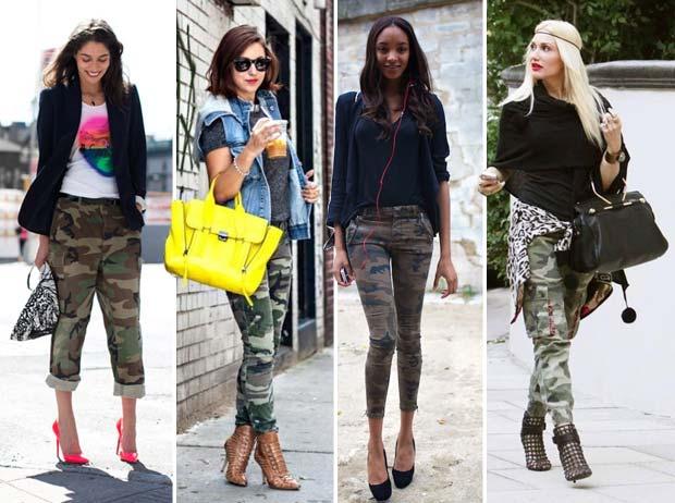 Street Style camouflage fashion