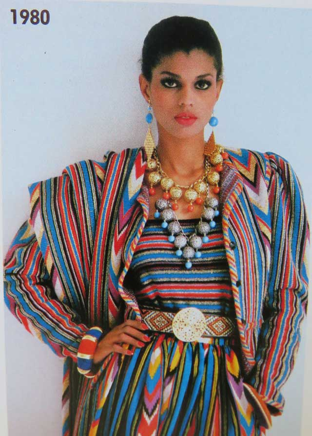 The colors, the patterns, the accessories are all too much yet somehow juuust right.