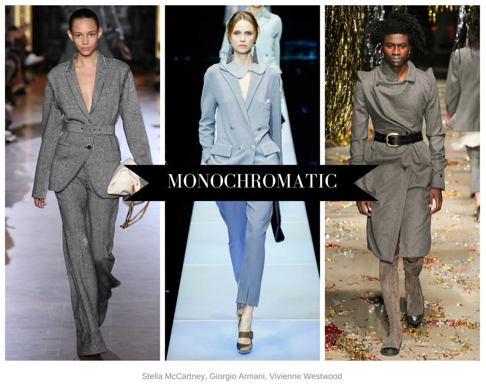 Monochromatic gray