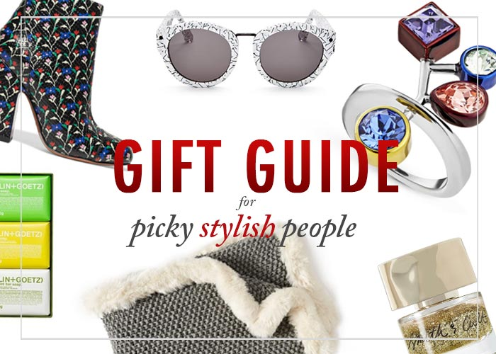 holiday gift guide for stylish picky people