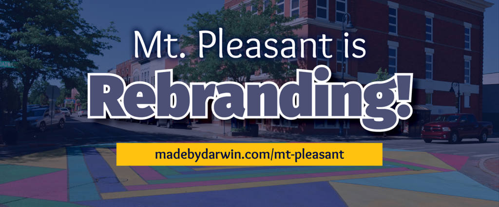 Mt. Pleasant is Rebranding