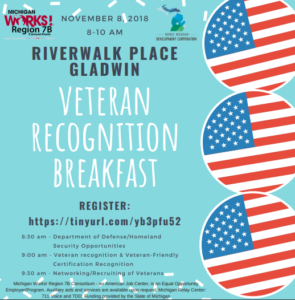 Veteran Recognition Breakfast Information