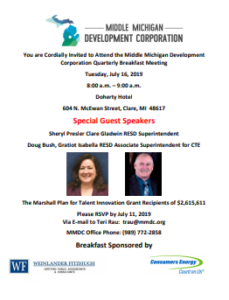 July 2019 Quarterly Breakfast