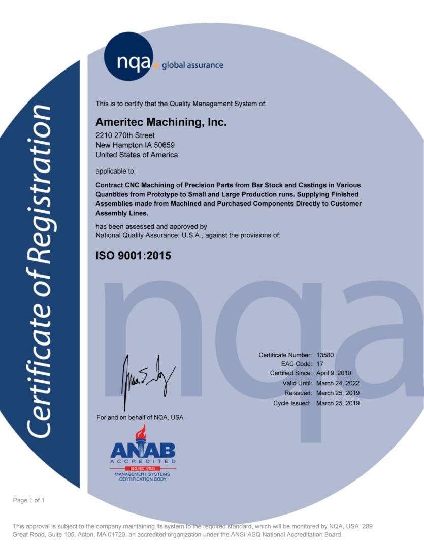 Ameritec-ISO-Cert-thru-220324-NQA