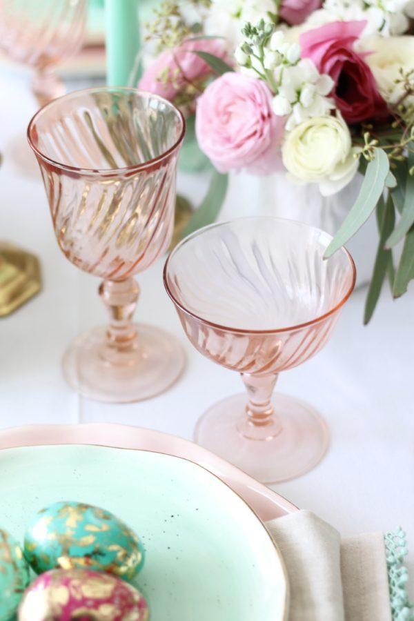 Easter Tablescape | amberpizante.com