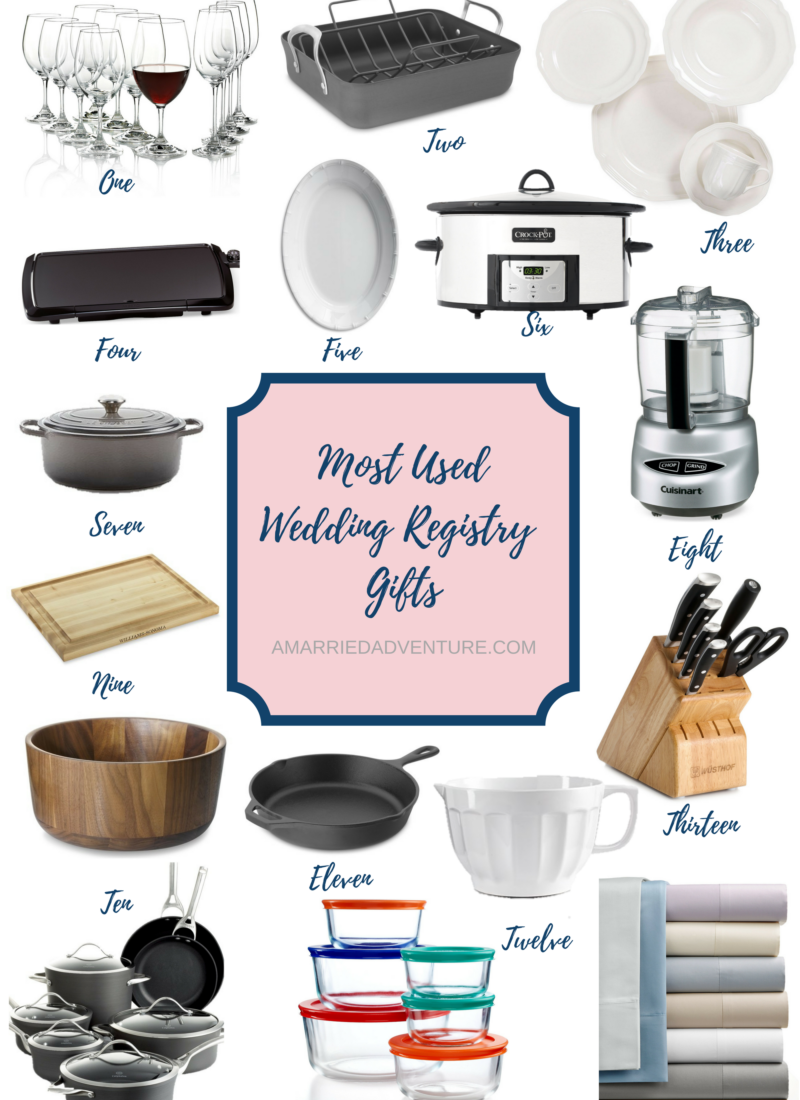 Our Most Used Wedding Registry Gifts | amberpizante.com