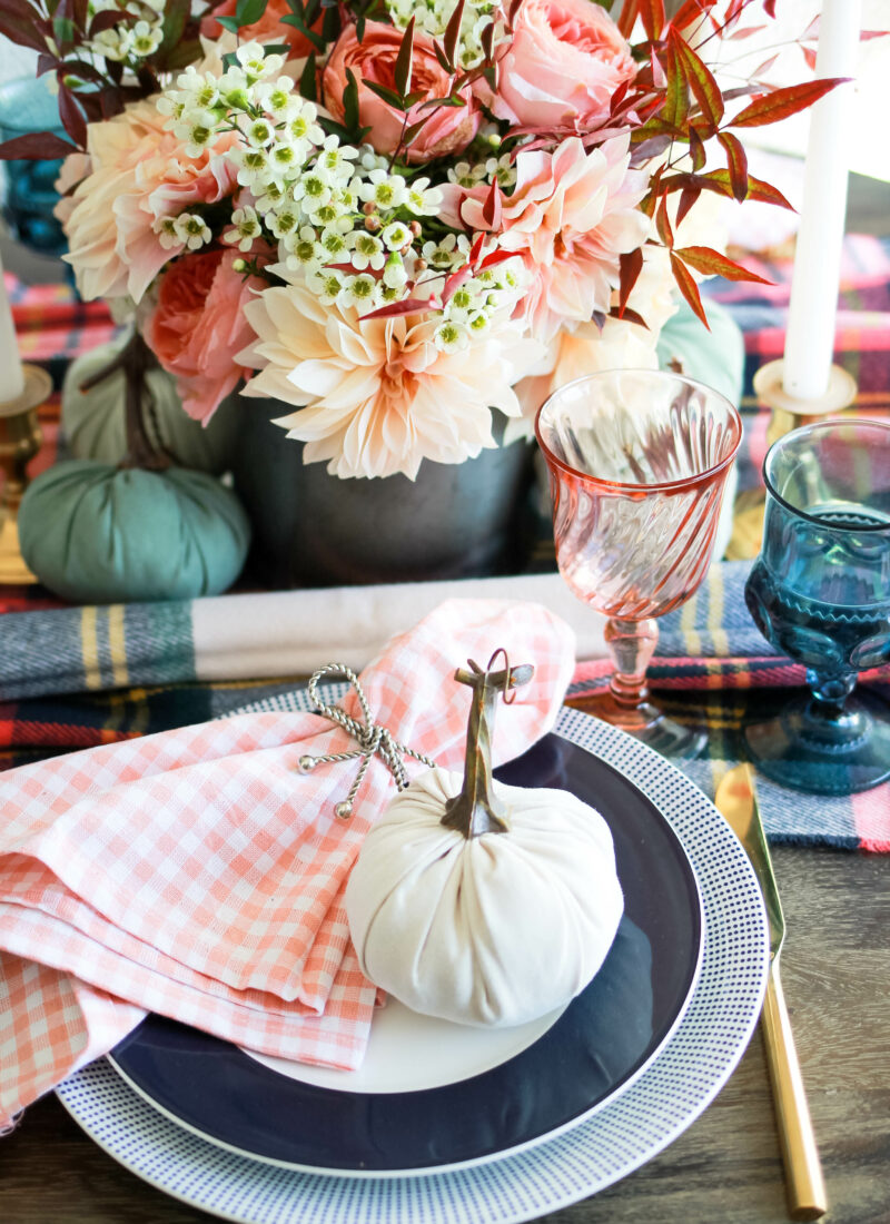 Thanksgiving Tablescape | amberpizante.com