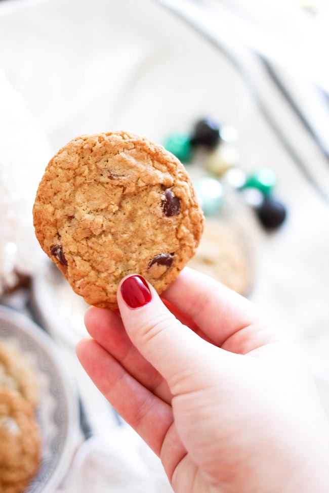 Chocolate Chip Cookie Recipe for Christmas