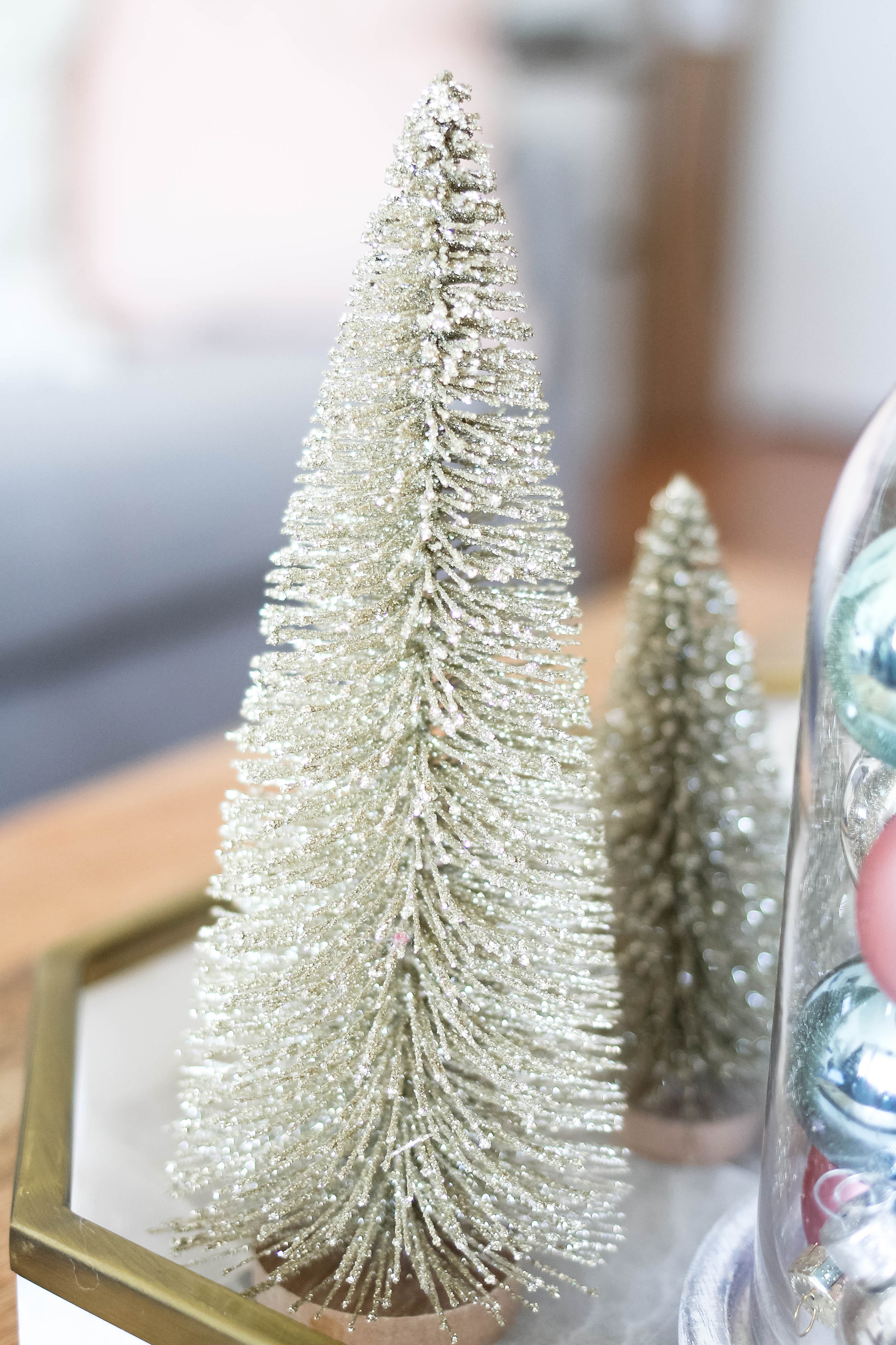 Bottle Brush Trees- Holiday Home Tour 2017 - amberpizante.com