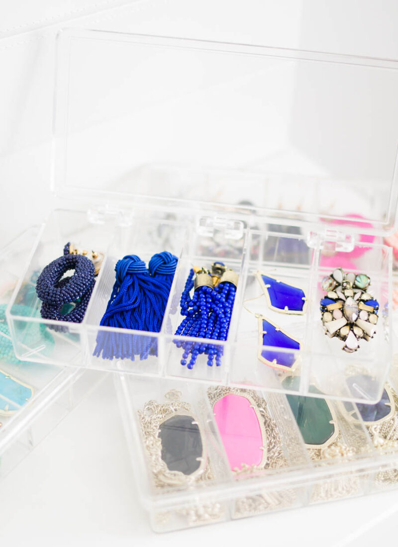 How I Organize My Jewelry​  for Small Space Living