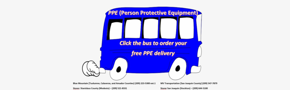 PPE Delivery Bus